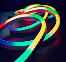 Flexible Neon Led Rope Lights Us 271 92 12 Off 20m Lot Ws2811 60leds M Led Neon Pixel Strip Ws2811 12v Rgb Waterproof Flex Neon Rope Light Pvc Neon Strip Light Tape In Led Strips