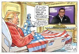 Cartoon with king arthur, arthur's horse alan, merlin, guinevere and lancelot. Mark Knight Cartoon Donald Tump Watching Dan Andrews On Television F Herald Sun Shop