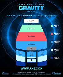 The Fillmore Seating Chart Miami Day6 Gravity 2nd World Tour Seating Charts Day6 Amino