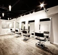 salon lighting ideas. interior simple decor for hair salon with pendant lighting and wood flooring ideas o