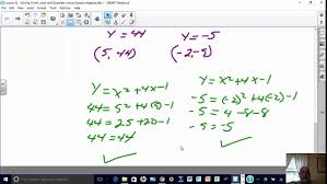 lesson 22 solving circle linear and quadratic linear systems of equations algebraically you