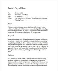 proposal memo samples research proposal memo example