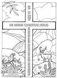 Kleurplaat Catechismus Zondag6 Bijbels Opvoedennl