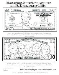 Money Coloring Page Pages Fake Play Printable Trend Medium Size