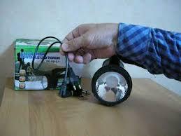 Ручной аккумуляторный <b>фонарь</b> SS 5918 1 светодиоды LED 1W ...