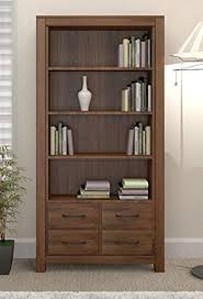 bookshelf with drawers. Exellent Drawers Grand Walnut Wood Furniture Large Tall Bookcase Bookshelf With Drawers In Bookshelf With Drawers U