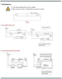slb blog how to install led tubes led tube installation