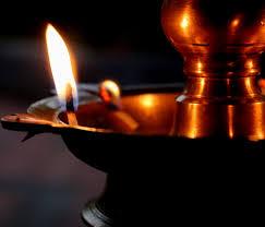 Nilavilakku Sri Chakra Puja Light Art Installation Diwali