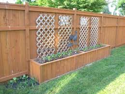 fence planters fence planters home depot hook over fence planters uk