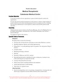 Receptionist Samples Resume Templates And Cover Letter