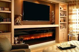wall entertainment center with fireplace wall unit