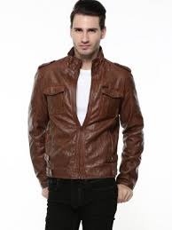 Being Human Size Chart India Buy Being Human Khaki Biker Jacket For Men Online In India