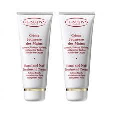 clarins set duo hand nail treatment