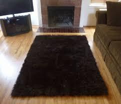 wonderful super plush brown faux fur area rug from france furry area rugs in furry area rugs ordinary