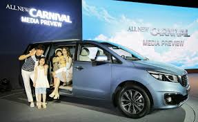 new car launches may 2014Kia Launch AllNew Carnival Minivan in South Korea  The Korean