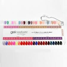 Essie Gel Colors Chart Details About Essie Gel Couture Nail Polish Color Sample Chart Palette Display