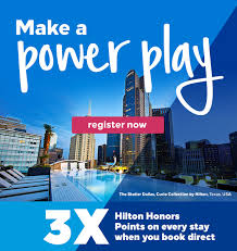 Earn Over 40x Hilton Points With The Power Up Promotion