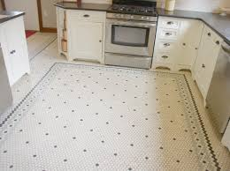 Penny Tile Kitchen Floor White Bright Kitchen Design Carriage Barn Custom Builders