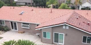 concrete tile roof restoration coatings