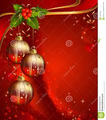 Vertical Red Christmas Backdrop Stock Vector Illustration Of