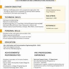 Sample Resume For Jobstreet Unique Sample Resume Format For Fresh