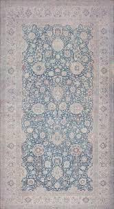 carpet. large scale all over design light blue persian kerman carpet 44142 nazmiyal
