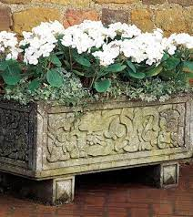 cast stone traditional planters