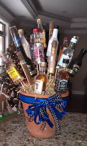 men don t care for flowers so for our 17th wedding anniversary i decided to make a bouquet of cigars and liquor for sam i think he s going to love it