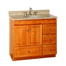 bathroom vanities 36 inch. Strasser Woodenworks Ultraline 36-Inch Bathroom Vanity With Right-Hand Drawers Vanities 36 Inch T