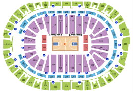 pnc arena seating chart seat map
