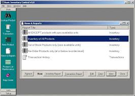 Basic Inventory Control Free Download And Software Reviews Cnet