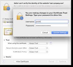 Making A Certificate Making Ssl Certificates Trusted In Safari