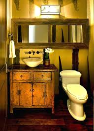 Bathroom Vanity Lighting Cool Southwest Style Bathroom Lighting Architecture Home Design