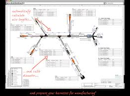 wire harness software diagram wiring diagrams for diy car repairs solidworks wiring harness at Wire Harness Drawing