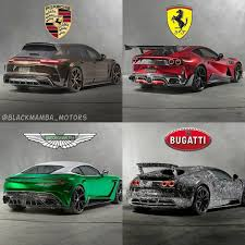 While sports car manufacturers like ferrari and porsche produce several models that range from $250,000 to $500,000 in cost, bugatti only offers one car model but it is a super car that is roughly twice as powerful and costs about $1.4 million. Porsche Ferrari Aston Martin Or Bugatti By Mansory