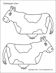 Animal Patterns To Trace Animal Printables Free Printable Templates Coloring