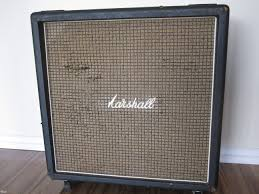 1972 Vintage Marshall 1960B 4x12 CELESTION CAB T1281 > Speaker ...