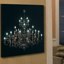 wall decor stickers bedroom led chandelier canvas it looks like a photograph printed