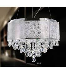 euro home 9016 lc laser cut metal shade chandelier with dragon s eye crystal