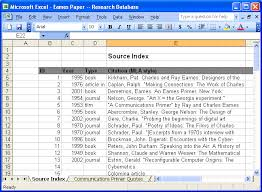 Research Paper Source Monday Master Class How To Build A Paper Research Database Study
