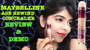 maybelline age rewind concealer hindi review and demo honest review