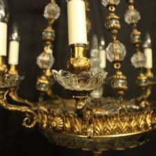 french gilded bronze 10 light chandelier antique lighting antique french chandeliers