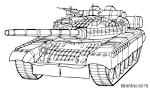Раскраска танки печать