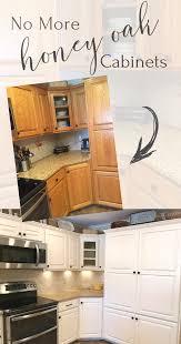 Bye Bye Honey Oak Kitchen Cabinets Hello Brighter Kitchen