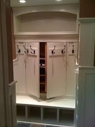 Behind The Door Coat Rack Mesmerizing Hidden Shoe Rack Storage Behind Coat Rack Great Idea For Mudroom