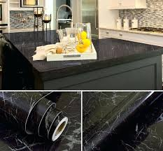 countertop wallpaper marble self adhesive wallpaper l stick removable stone wall stickers for kitchen counter top