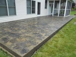 stamped concrete overlay. Stamped Concrete Overlay