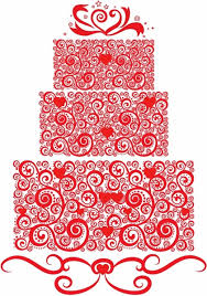 Lacy Wedding Cake Free Vector In Adobe Illustrator Ai Ai