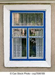 outside house window. Fine Window A Country House Window  Csp7506189 Intended Outside House Window