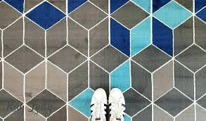 grey geometric rug industry mermaid blue grey geometric rug the rug lady blue geometric rug navy